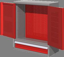 Шкаф металлический навесной 03.001М