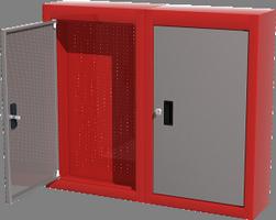 Шкаф металлический навесной 03.000L