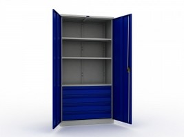 Шкаф металлический для инструментов TC 1995-003040