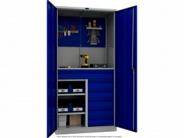 Шкаф металлический для инструментов TC 1995-321215